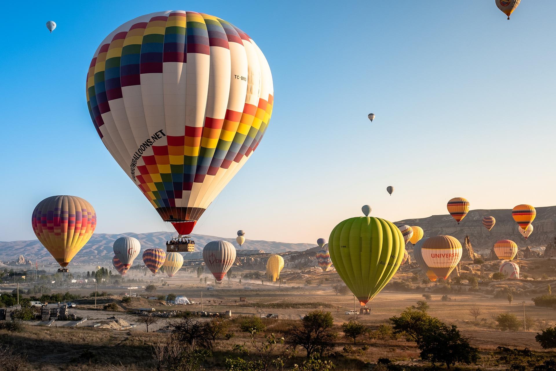Prezent dla siebie samej - lot balonem