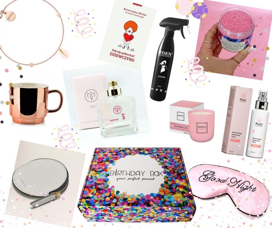 Produkty w Birthday Box