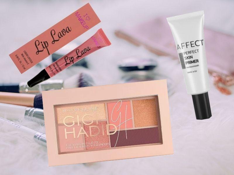 kosmetyki do makijażu w birthday box