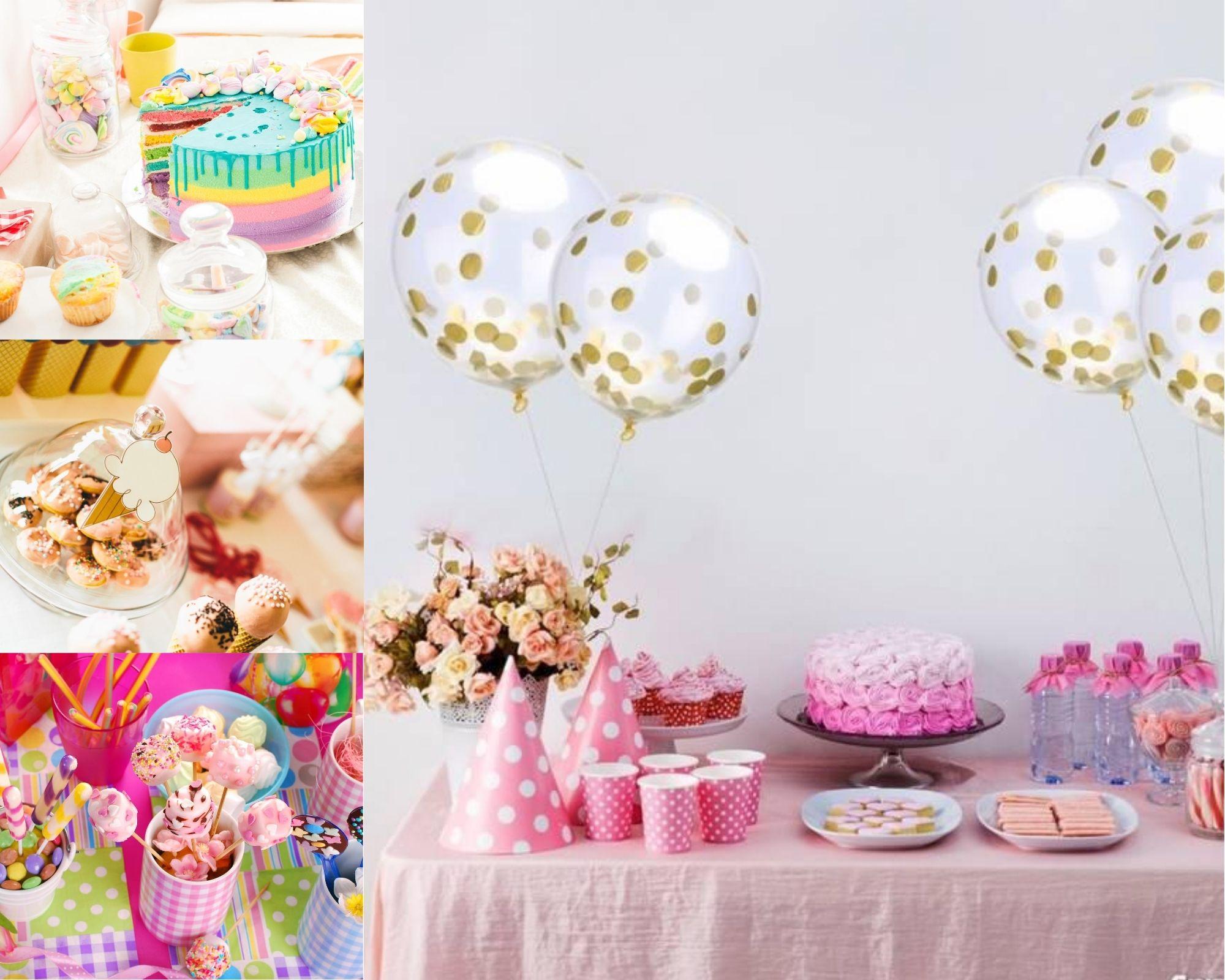 szwedzki stół na imprezie urodzinowej